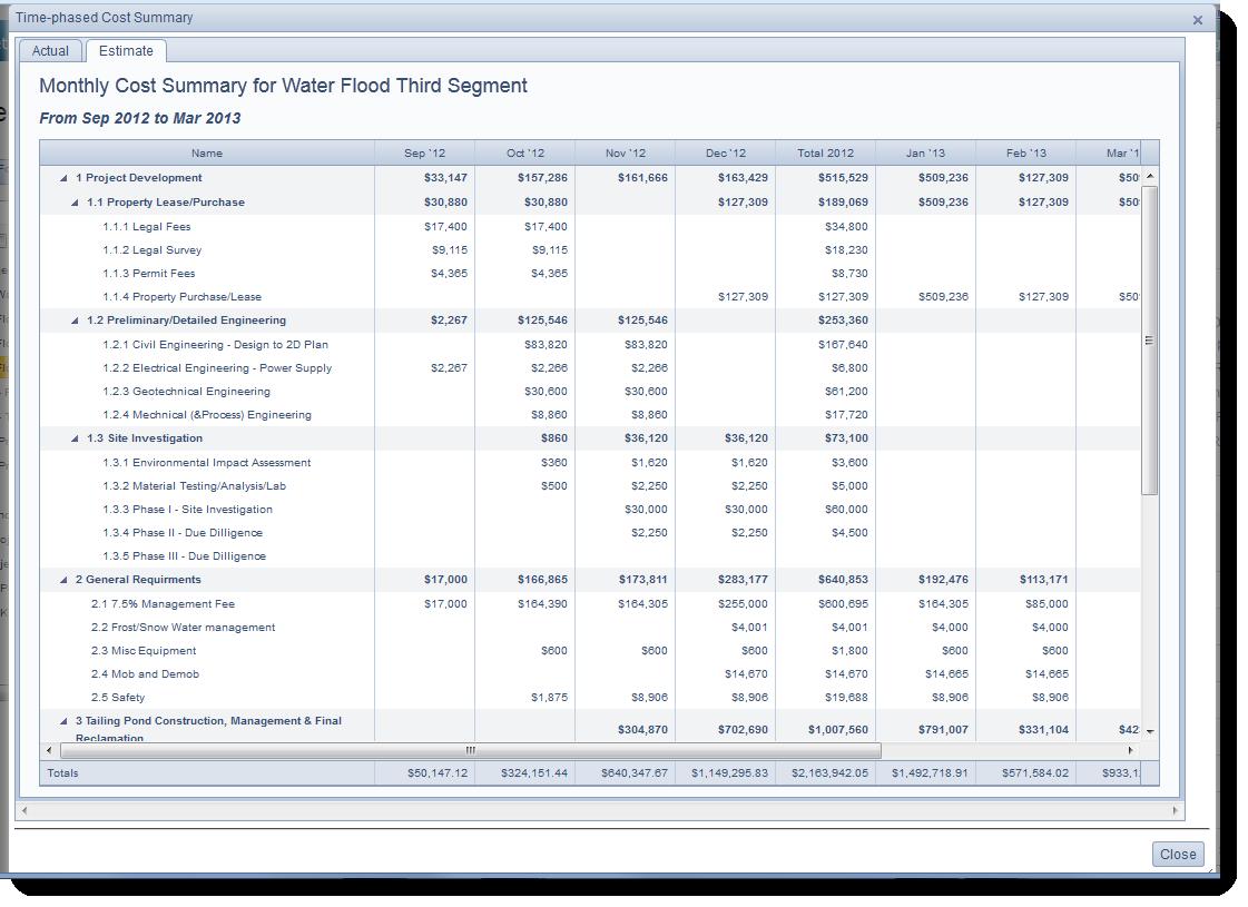 Earned Value Management Software