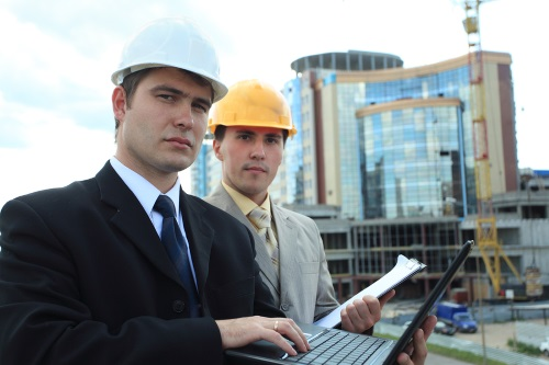Engineers in the field