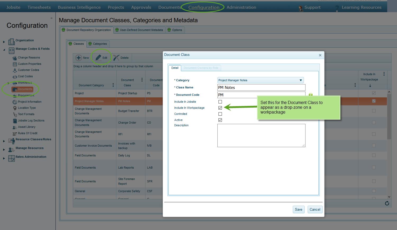 Manage Custom Report Templates