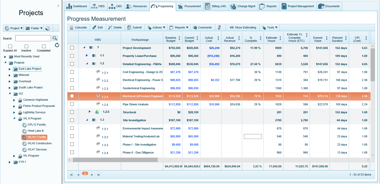 Timesheets and billing for construction and engineering