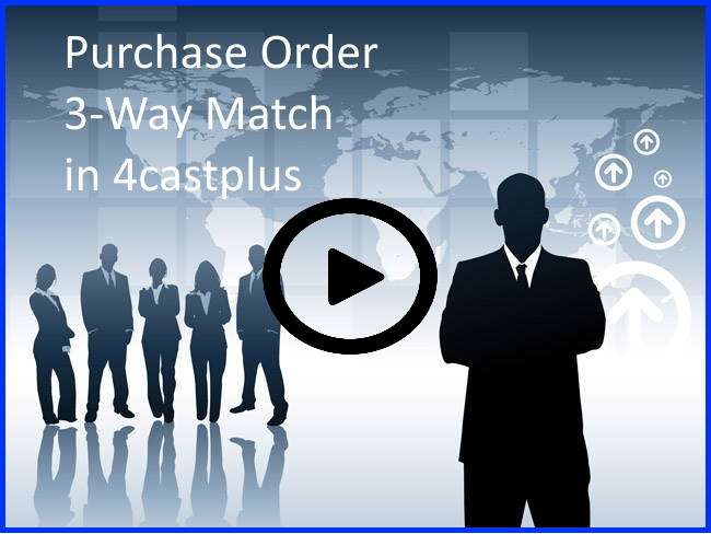 purchase order 3-way match
